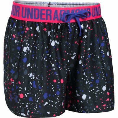 Under Armour Printed Play Up Short - Kinder - NEU - 1291712-003