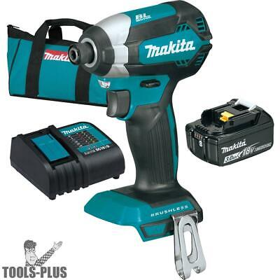 Makita XDT131 18V LXT Li-Ion Brushless Cordless Impact Driver Kit 3.0Ah Batt New