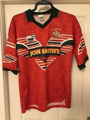 Wales Rugby League Shirt