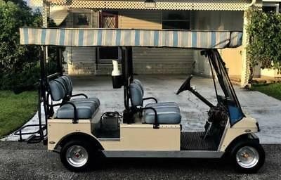 CLUB CAR GOLF CART LIMO w/Solar Roof, 4 Passenger Forward Facing High Speed