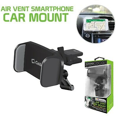 Premium Air Vent Smartphone Car Mount with 360 Degree Rotation & Tightening Knob