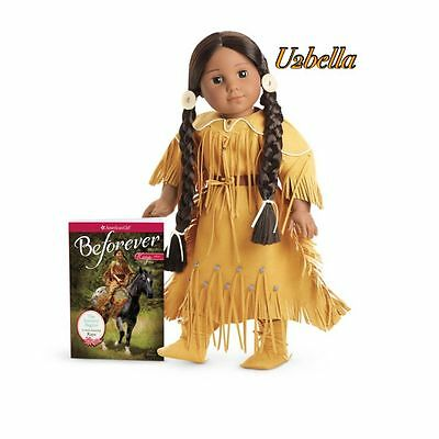 American Girl Kaya Doll with book Beforever Doll  New in box