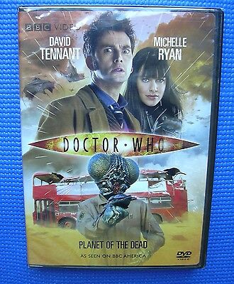 Doctor Who: Planet of the Dead DVD 2009 BBC Video SEALED NEW Tennant Ryan