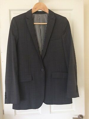 Boys Marks and Spencer Autograph Grey Suit Aged 14