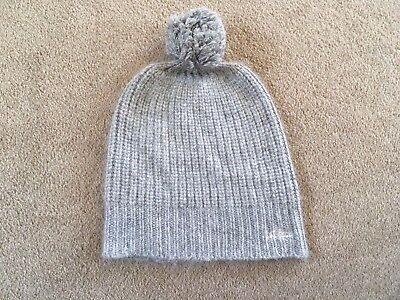 Women's 'Fatface' Grey Bobble Hat