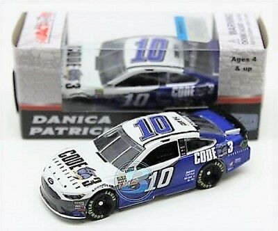 Danica Patrick 2017 ACTION 1:64 #10 Code 3 Ford Nascar Monster Energy Diecast
