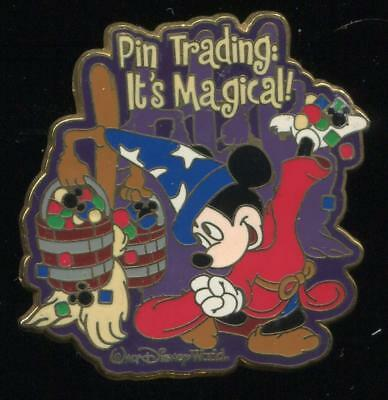 WDW Sorcerer Mickey Pin Trading It's Magical Surprise LE Disney Pin 41781