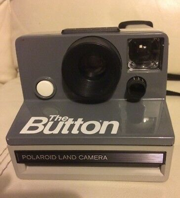 Polaroid The button Instant Land Camera in good working condition ( SX-70 )