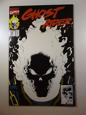 Ghost Rider #15 Glow in the Dark Skull Cover 1st Print! NM-!! Amazing!!