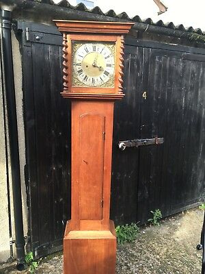 Antique Oak Grandfather/mother Long Case Clock John Thomson London
