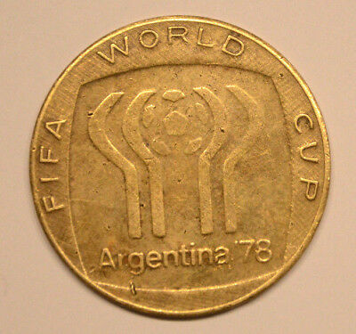 FIFA World Cup Argentina 1978 Football Soccer medal