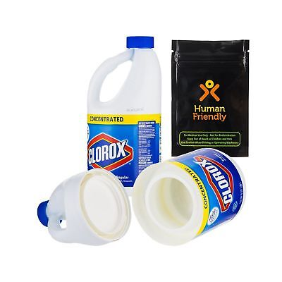 Clorox Jumbo 64 oz Large Diversion Safe Stash Can w HumanFriendly Smell-Proof...