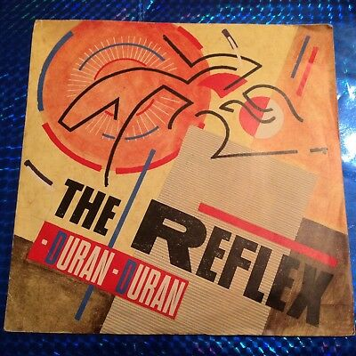 "Duran Duran  7"" Vinyl Single ""The Reflex"" ""Come Up and See Me"" 1983 Steve Harley"