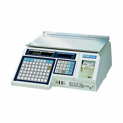 CAS LP1000N Label Printing Scale 30lbs Capacity 0.01lbs Readability