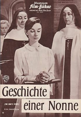 "Audrey Hepburn ""the Nun's Story"" Germany Version Movie Program 1959"