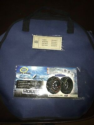Artic Polar 4x4 16mm Snow Chains. Volvo XC90 And Many Other Cars