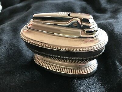 Large Vintage Queen Anne style Ronson Table Top Lighter - heavy duty