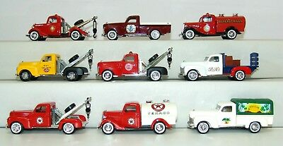 Solido 1:43 9 Tow Truck Tanker Deliver Pickups Pepsi Stp Sun Club Ship Chandlers