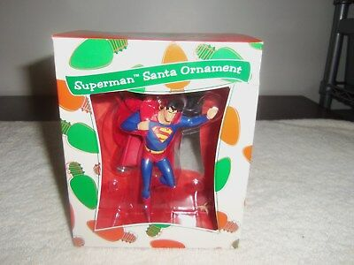 Nib Warner Bros. Superman Santa Ornament