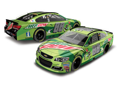 Dale  Earnhardt Jr 2017 #88 Mountain Dew Chevy SS 1:64 ARC -