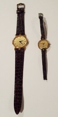 Lot of Two (2) Gucci Wrist Watches