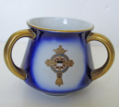 Knights Templar Annual Conclave 1909 New York 3 Handle Cup