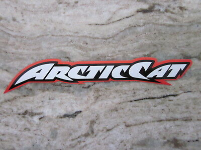 Arctic Cat  decal sticker orange