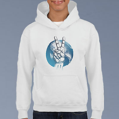 Surfing Harmoney Kids Hoodie, Youth Pullover Size 6-12 Beach Surf Holiday Sweat