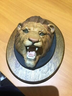 Collectable Ornament Wall Hanging 'Lion' Beswick China, England