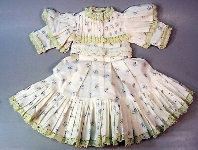 Beautiful Jumeau French Doll Reproduction Dress