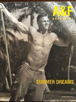 Abercrombie & Fitch 1999 Summer Catalogue A&F Quarterly Bruce Weber