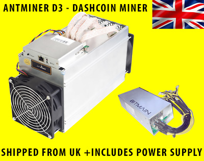 Antminer D3 and APW 3++ 1st November Batch - Bitmain - Import Tax Included
