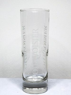 """Courvoisier Cognac With Etched Logo 6"""" Tall Glass"""