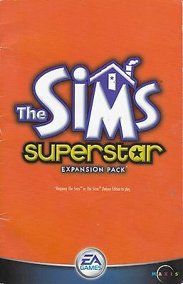 The Sims: Superstar Expansion Pack     **Manual Only**