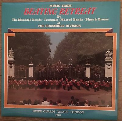 The Household Division- Beating Retreat- Vinyl Record
