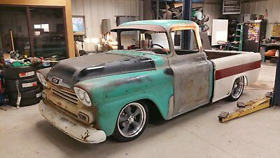 1959 Chevrolet Other Pickups  1958 chevy cameo , 1959 , rat rod , pro touring , shop truck , custom