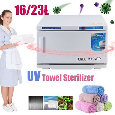 UV Towel Tool Sterilizer Warmer Cabinet Spa Facial Disinfection Salon Beauty BG