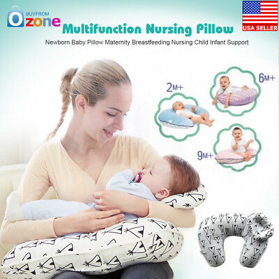 Newborn Baby Pillow Maternity Breastfeeding Nursing Child Infant Support