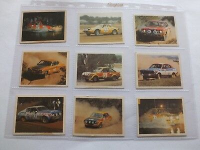 Weet-Bix Rally Champs Cards X 9