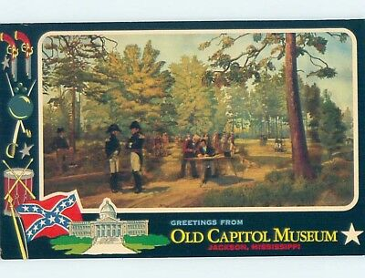 Pre-1980 GREETINGS FROM POSTCARD Jackson Mississippi MS ho5627
