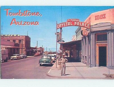 Unused Pre-1980 STREET SCENE Tombstone Arizona AZ hp1802