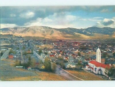 Unused Pre-1980 AERIAL VIEW Butte Montana MT A4447