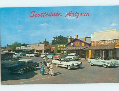 Unused Pre-1980 STREET SCENE Scottsdale Arizona AZ hp1875