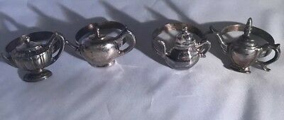 4 Tea Pot Napkin rings