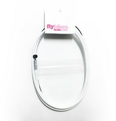 FlyBikes - 1 x Teflon Lined BMX Bike Brake Cable - White