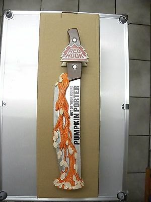 "RARE RedHook Pumpkin Porter Out of Your Gourd 11""  Beer Draft Tap Keg Handle NIB"