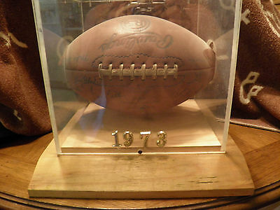 '73 NOTRE DAME Game Used Rawlings R5 Football TEAM Autographed Parseghian + More