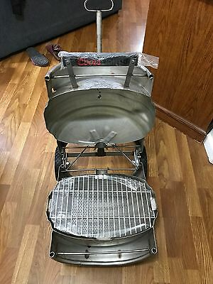 COORS BREWING COMPANY COORS LIGHT Stainless Quarter Keg Barrel Grill NEW IN BOX