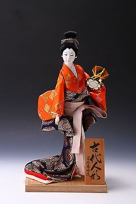 Classic Style Geisha Doll  -Traditional percussion-  Suzuhara Product