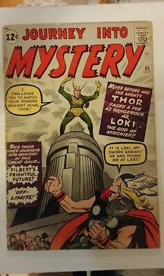 Journey into Mystery #85 VG Key issue * First appearance Loki